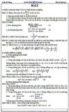 Đề ôn thi Đại học môn Toán - Trần Sĩ Tùng - Đề số 5