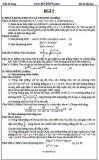 Đề ôn thi Đại học môn Toán - Trần Sĩ Tùng - Đề số 7