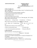 Đề thi học kì 1 môn Ngữ Văn lớp 7 năm 2017-2018 có đáp án - Trường THCS Trung Kiên