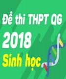 Đề thi THPT Quốc gia môn Sinh năm 2018 - Có đáp án