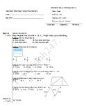 Đề thi học kì 2 môn Toán lớp 2 năm 2017-2018 - Trường Tiểu học Nguyễn Khuyến