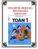 Tổng hợp đề thi học kì 2 môn Toán lớp 1 năm 2017-2018