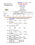 Đề thi HK 1 môn Toán lớp 7 năm 2011 - THCS Phú Hòa - Mã đề 2
