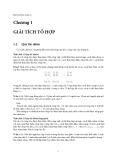 Giáo trình Môn Xác suất thống kê: Phần 1