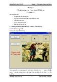 Bài giảng Hướng dẫn lập trình VB.NET - Chương 2: Viết một chương trình Visual Basic.NET đầu tay