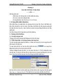 Bài giảng Hướng dẫn lập trình VB.NET - Chương 4: Làm việc với Menu và hộp thoại