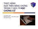 Bài giảng Y học - Bài 3: Thực hành dựa trên bằng chứng trong y học: Y học chứng cứ
