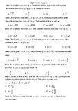 Bài tập trắc nghiệm môn Toán đại số
