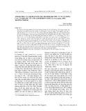 Ảnh hưởng của độ mặn lên tốc độ sinh trưởng và tỷ lệ sống của cá khoang cổ cam Amphiprion percula (Lacepede, 1801) trưởng thành