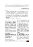 Nghiên cứu ảnh hưởng của phân bón đến sinh trưởng, phát triển của giống lúa khẩu nậm xít tại Bắc Hà, Lào Cai