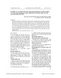 Nghiên cứu sự phân bố, khả năng sinh trưởng và phát triển của cây sậy (Phragmites Autralis) trên đất sau khai thác quặng tại tỉnh Thái Nguyên