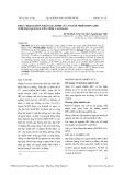 Thực trạng hôn nhân gia đình của người nhiễm HIV /AIDS ở huyện Quảng Uyên tỉnh Cao Bằng