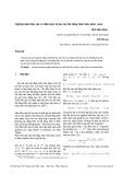 Nghiệm hữu hiệu yếu và điều kiện tối ưu cho bất đẳng thức biến phân vector