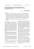Một số giải pháp nâng cao chất lượng dạy học theo hệ thống tín chỉ tại trường Đại học Sư phạm - Đại học Thái Nguyên