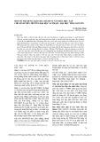 Một số nội dung giáo dục hành vi văn hóa học tập cho sinh viên trường Đại học Sư phạm - Đại học Thái Nguyên