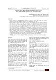 Kết quả điều tra giá trị tài nguyên cây có ích ở xã xuân sơn huyện tân sơn, tỉnh Phú Thọ