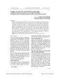 Nghiên cứu khả năng sinh trưởng, phát triển và mối tương quan giữa các chỉ tiêu nông học với năng suất của một số giống ngô lai tại Thái Nguyên