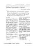 Nghiên cứu ảnh hưởng  tổ hợp phân bón đến sinh trưởng, phát triển của giống sắn KM414 tại Tuyên Quang