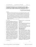 Tình hình nhiễm bệnh ngoại ký sinh trùng đơn bào trên cá hương và cá giống tại xã Cù Vân, huyện Đại Từ, tỉnh Thái Nguyên, đánh giá hiệu quả điều trị của một số hóa chất