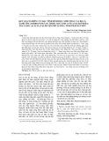 Kết quả nghiên cứu đặc tính sinh học, sinh thái của bọ lá xanh tím (Ambrostoma sp) thuộc bộ cánh cứng (Coleoptera) ăn lá keo (Acacia) tại huyện Phú Lương, tỉnh Thái Nguyên