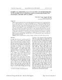 Nghiên cứu ảnh hưởng của các loại thức ăn lên sinh trưởng và tỷ lệ sống của cá tầm nga (Acipenser gueldenstaedtii Brandt, 1833) giai đoạn cá hương lên cá giống