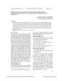 Một số quy luật cấu trúc cơ bản của rừng trồng Tếch (Tectona grandis Linn. F) tại xã Chiềng Hặc, huyện Yên Châu, tỉnh Sơn La