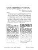 Kết quả thử nghiệm giâm hom Bách vàng (Xanthocyparis vietnamensis Farjon & Hiep) nhằm phục vụ công tác bảo tồn nguồn gen thực vật rừng quý, hiếm