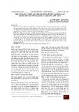 Thực trạng và kết quả khám chữa bệnh của khoa sản Bệnh viện Trường Đại học Y Dược từ 2009 - 2011