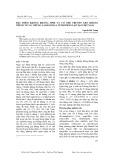 Đặc điểm kháng kháng sinh và cơ chế truyền gen kháng thuốc ở các chủng Salmonella typhi phân lập tại Việt Nam