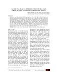 Các yếu tố liên quan đến hành vi chăm sóc bàn chân ở bệnh nhân đái tháo đường týp 2 tại Thái Nguyên