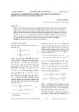 Khảo sát các ảnh hưởng do nhiễu tác động của hai hệ lực hướng tâm vuông góc trong ổ đỡ từ