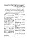 Tối ưu hóa quy trình phân lập curcumin từ củ nghệ vàng