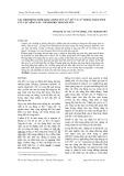 Xác định đồng thời hàm lượng vết CdII, PbII VÀ CuII trong trầm tích lưu vực sông Cầu - thành phố Thái Nguyên