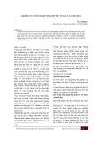 Nghiên cứu công nghệ tổng hợp TiC từ TiO2 và muội than