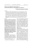Khảo sát quá trình điều chế sét hữu cơ từ Bentonite (Pháp) và Cetyltrimetylamoni bromua