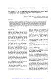 Ảnh hưởng của các tổ hợp phân bón đến sinh trưởng, phát triển của giống lạc l23 vụ xuân 2010 trên diện tích đất một vụ tại huyện Hữu Lũng - tỉnh Lạng Sơn