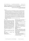 Nghiên cứu đặc điểm thực vật và tác dụng dược lý của dược liệu lõi tiền trên cơ trơn tử cung cô lập của súc vật thí nghiệm