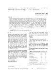 Nghiên cứu khả năng hấp phụ Cu2+, Ni2+ của than bã mía
