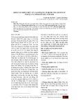 Khảo sát kiến thức của người dân về bệnh tăng huyết áp ở 08 xã của tỉnh Yên Bái năm 2010