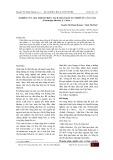 Nghiên cứu qui trình chiết tách chất màu tự nhiên từ cây Cẩm (Peristrophe bilvalvis (L.) Merr.)