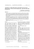 Ảnh hưởng của điều kiện nuôi cấy đến khả năng sản xuất cellulase của chủng nấm sò pleurotus saijor – caju trong điều kiện lên men xốp