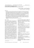 Sử dụng Bèo tây (Echihornia crassipes) làm sạch nước bị ô nhiễm Pb, Cd, As tại Thái Nguyên
