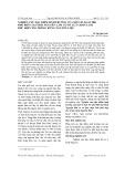 Nghiên cứu đặc điểm sinh trưởng của một số loài tre phổ biến tại Thái Nguyên làm cơ sở lựa chọn loài phù hợp cho trồng rừng nguyên liệu