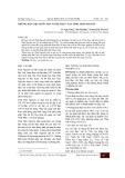 Những dẫn liệu bước đầu về hệ thực vật tỉnh Thái Nguyên