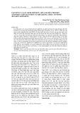 Tạo dòng và xác định trình tự cDNA mã hóa Protein Antivirus liên quan đến cơ chế kháng virus ở Tôm sú (Penaeus Monodon)