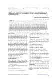 Nghiên cứu ảnh hưởng của GA3 vaf Yogen No. 2 đến năng suất, chất lượng Hoa cúc vàng thược dược (Chrysanthemum sp.) tại Thái Nguyên