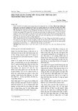Biện pháp quản lí sinh viên ngoại trú trên địa bàn thành phố Thái Nguyên