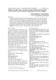 """Nghiên cứu độc tính cấp (LD50) và độc tính bán trường diễn của cao lỏng """"Ngưu sâm tra"""" trên động vật thực nghiệm"""