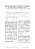 Phân lập và định tên chủng vi khuẩn HR5.1 từ đất nhiễm chất diệt cỏ/Dioxin xử lý bằng Bioreactor hiếu khí