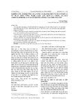 Nghiên cứu ảnh hưởng của tuổi và mật độ đến tỷ suất dăm và tỷ suất dăm công nghệ loài cây Keo lá tràm (Acacia auriculiformis a.cunn ex benth) trồng tại Thái Nguyên